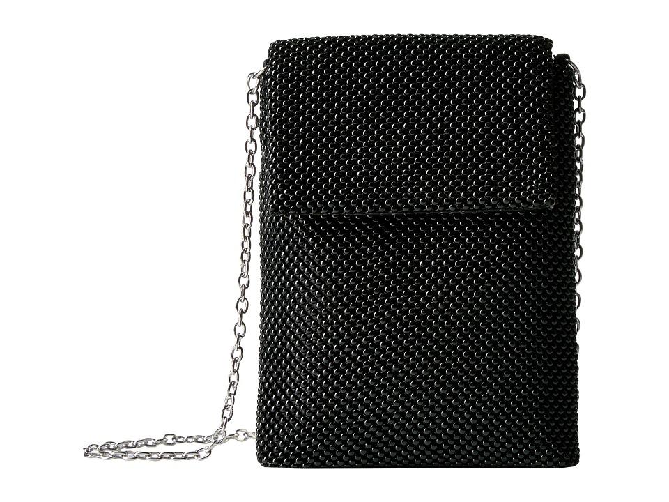 Jessica McClintock - Savannah Mesh Crossbody (Black) Cross Body Handbags