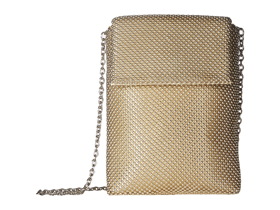 Jessica McClintock - Savannah Mesh Crossbody (Gold) Cross Body Handbags