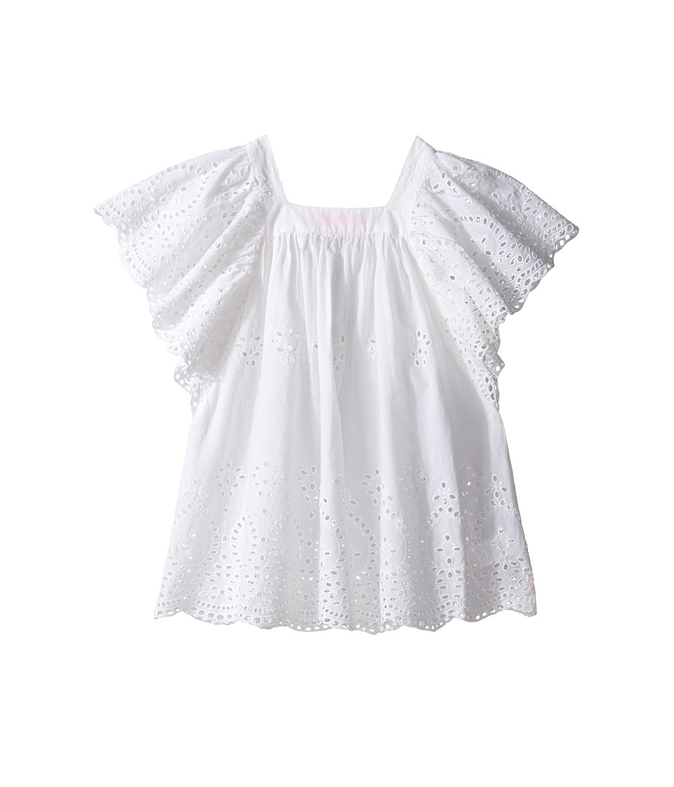 Seafolly Kids - Prairie Girl Angel Dress Cover-Up (Toddler/Little Kids) (White) Girl's Swimwear