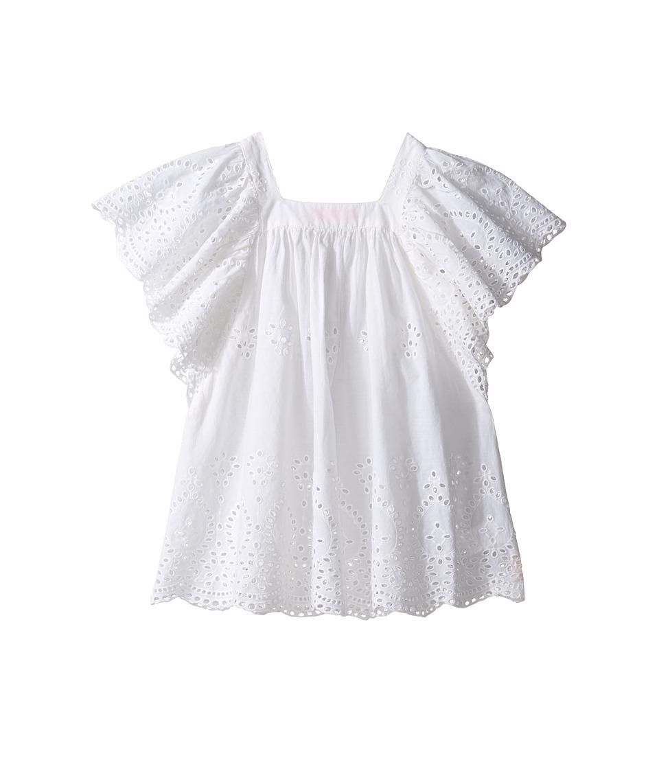Seafolly Kids Prairie Girl Angel Dress Cover-Up (Toddler/Little Kids) (White) Girl