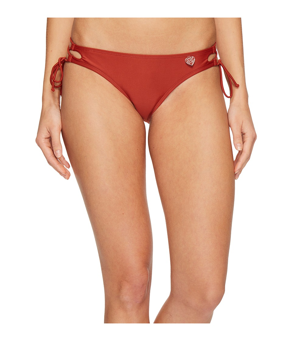 Body Glove - Smoothies Tie Side Mia Bottoms (Terracotta) Women's Swimwear