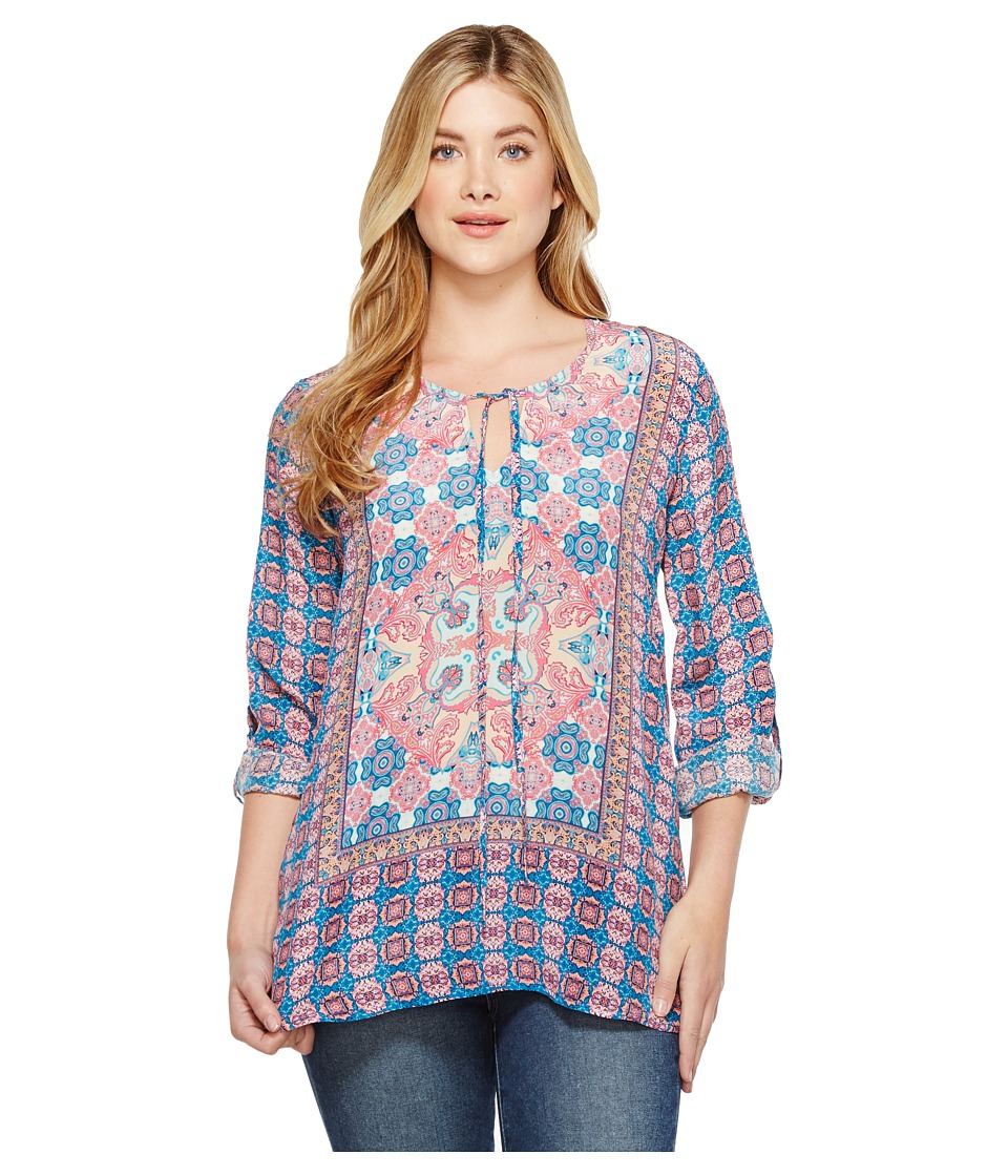 Tolani - Virgina Blouse (Pink) Women's Blouse