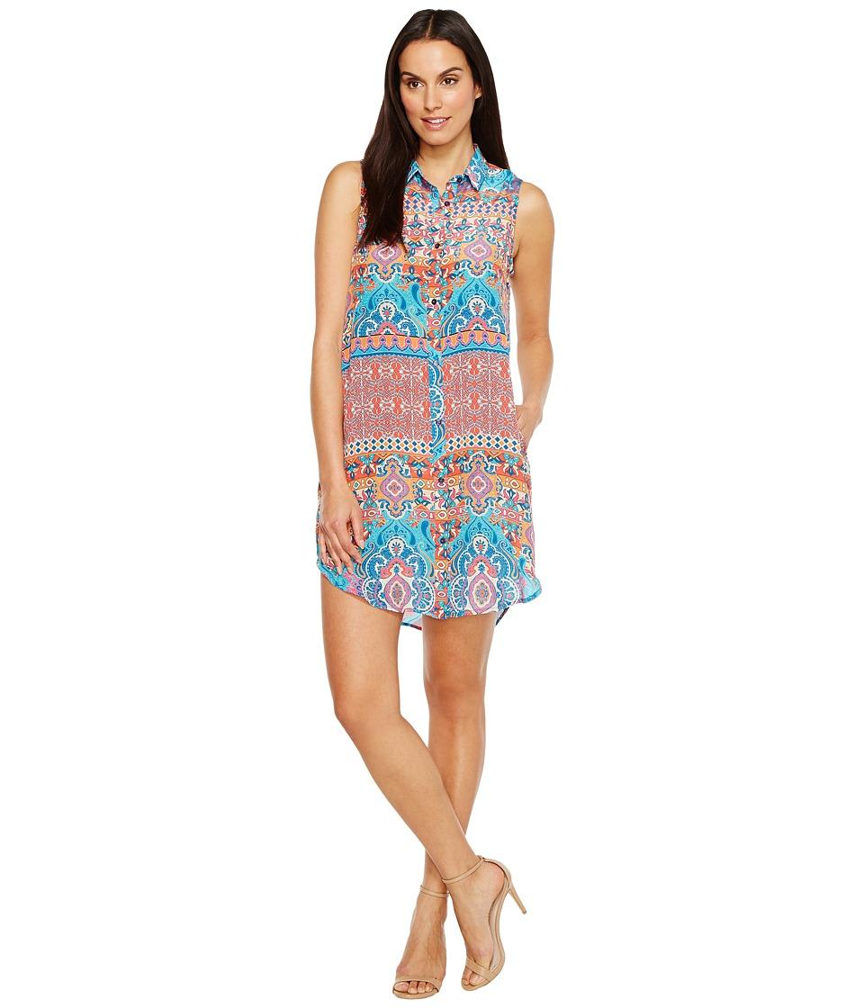 Tolani - Holly Sleeveless Tunic Dress (Festive) Women's Dress