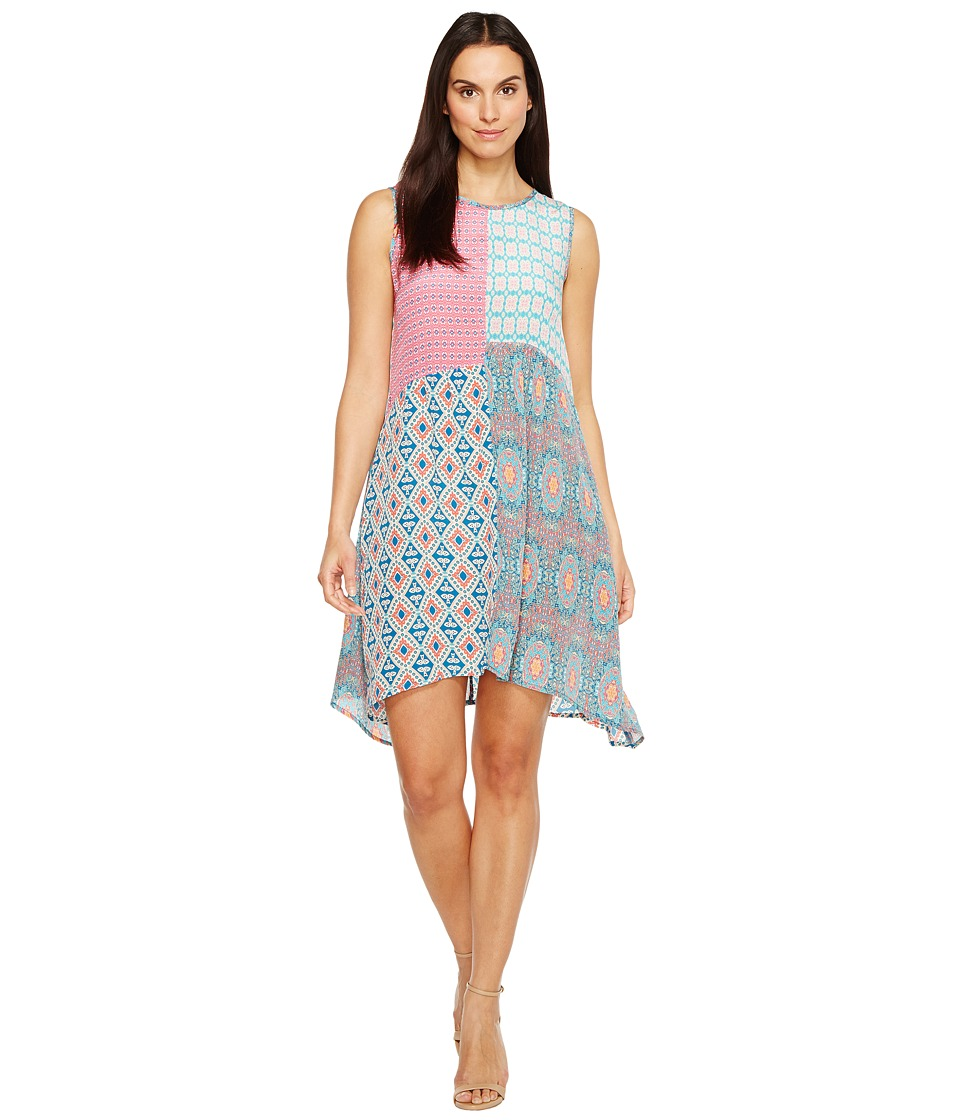Tolani Cassie Sleeveless Mini Dress (Seafoam) Women