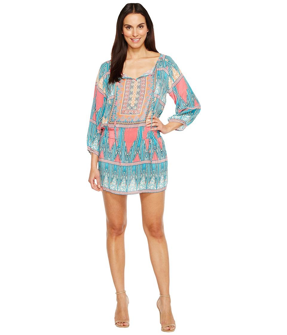 Tolani - Eva Tunic Dress (ZigZag) Women's Dress