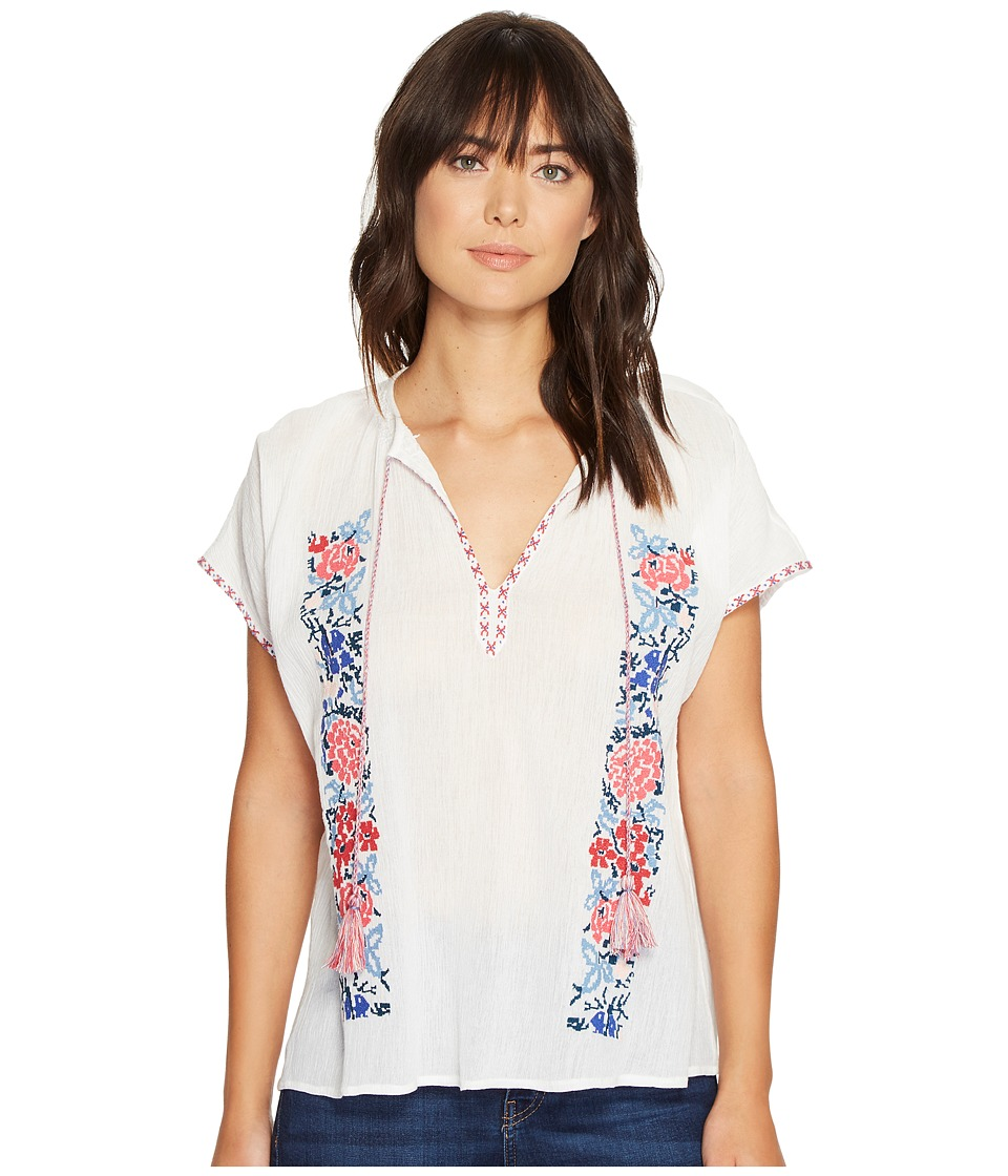 Tolani - Julissa Embroidered Top (Jasmine) Women's Clothing