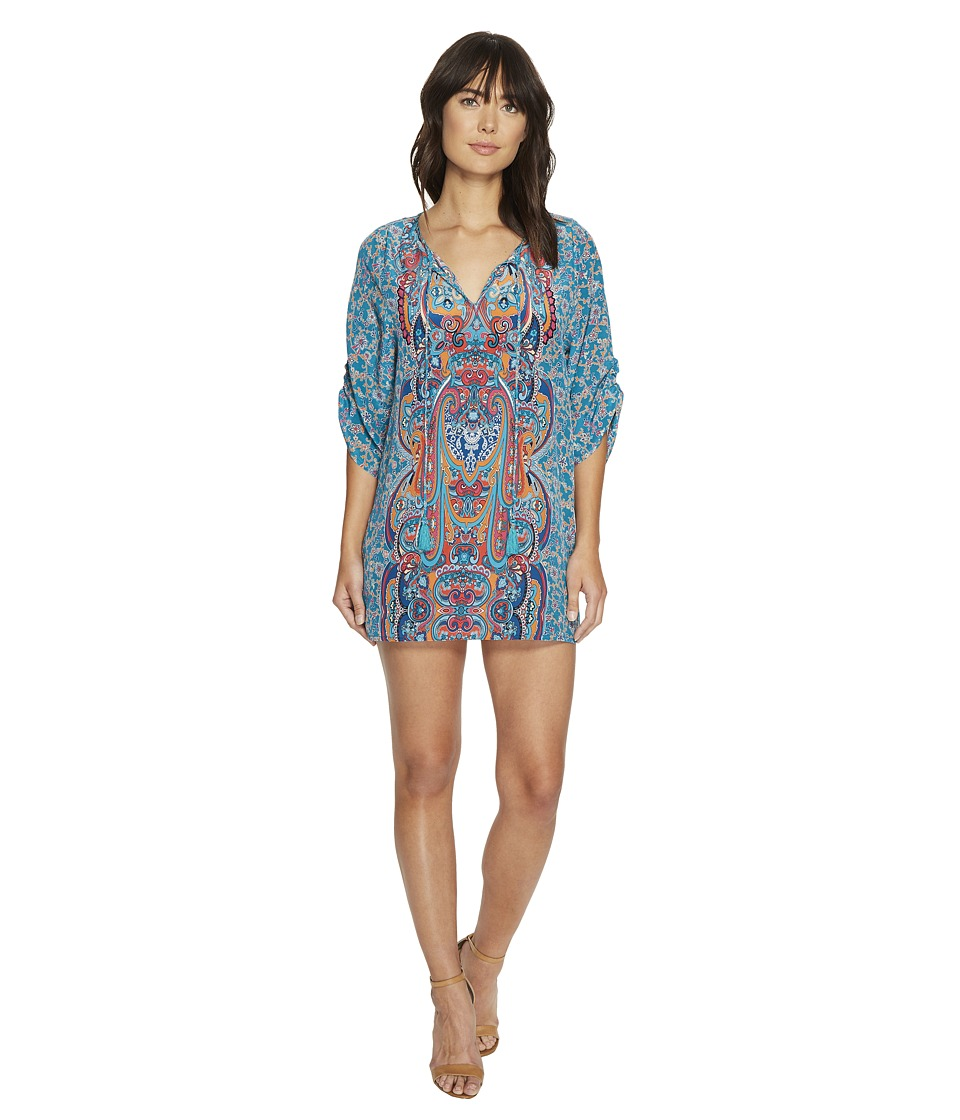 Tolani Meg Tunic Dress (Teal) Women