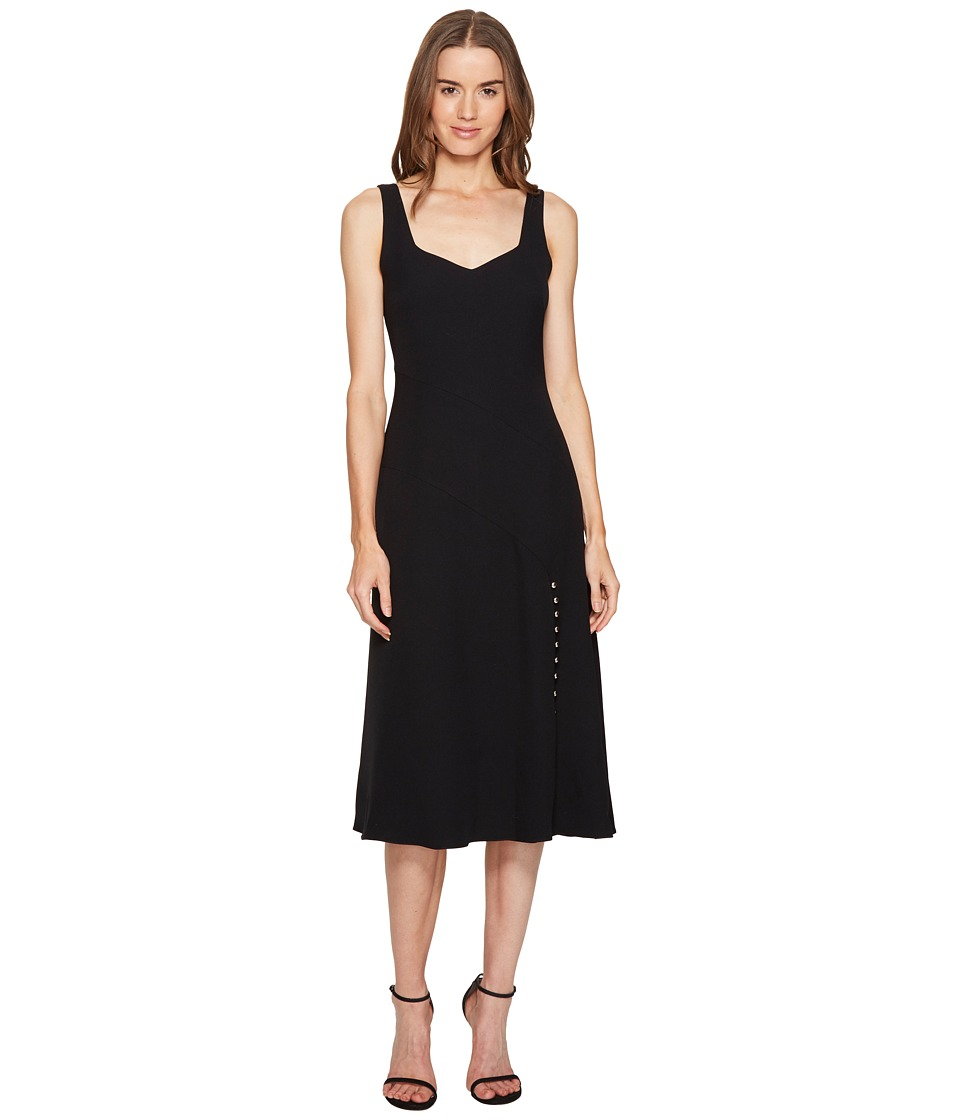 Prabal Gurung Crepe V-Neck Sheath Flare Dress