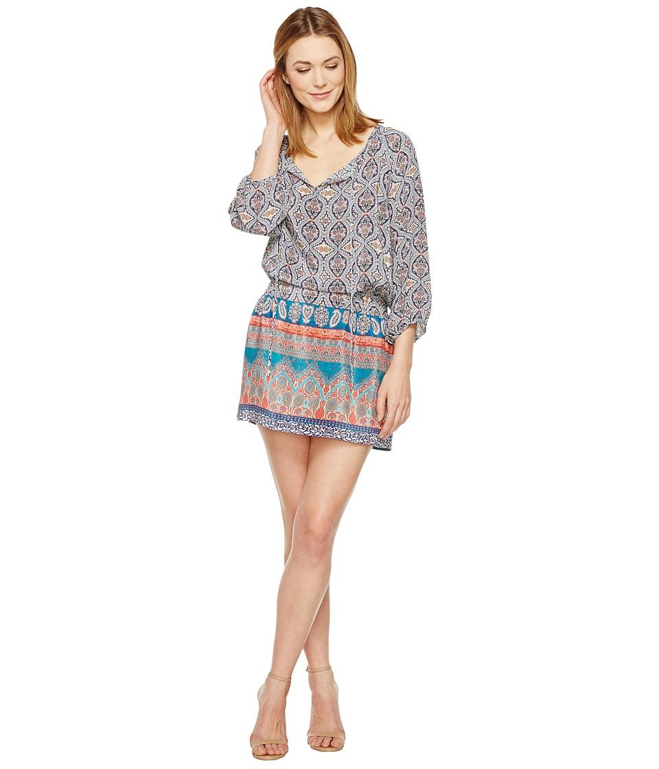 Tolani - Eva Tunic Dress (Mauve) Women's Dress