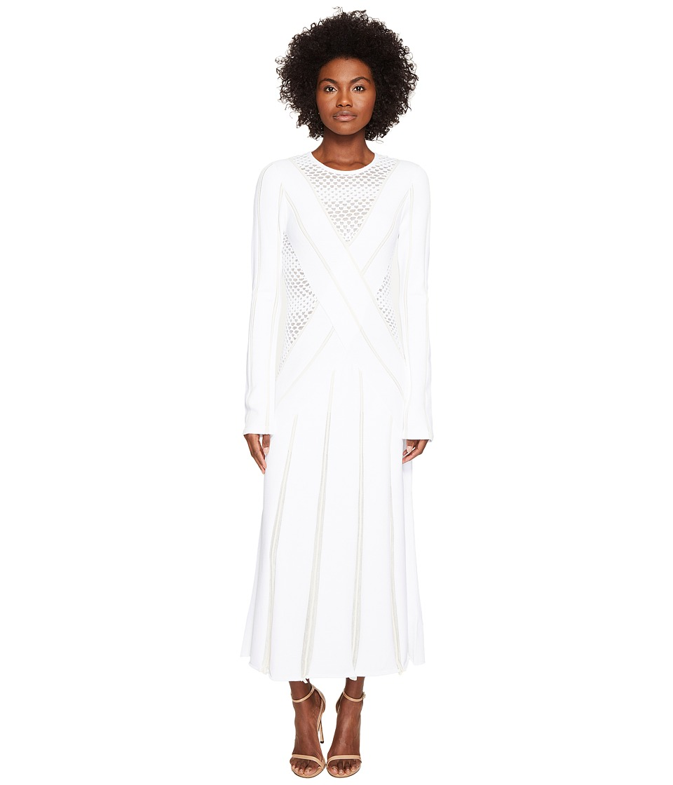 Prabal Gurung Viscose Knit Long Sleeve Knit Dress