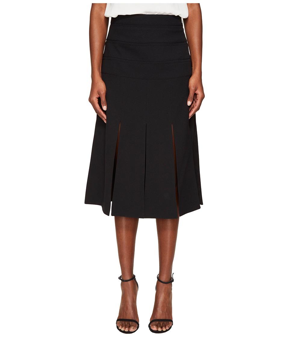 Prabal Gurung - Crepe Carwash Skirt (Black) Women's Skirt