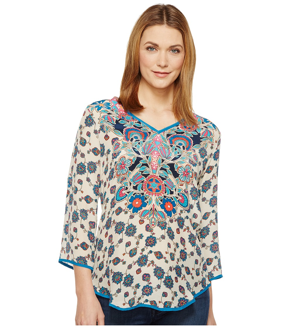 Tolani - Molly Top (Ivory) Women's Clothing