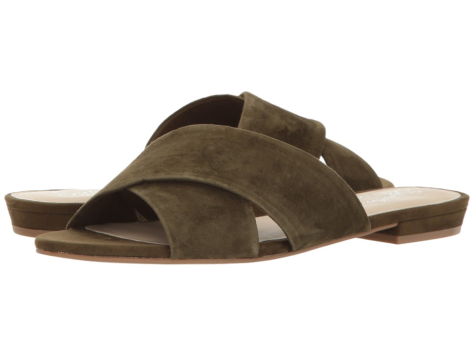 Seychelles - Continental (Olive Suede) Women's Sandals