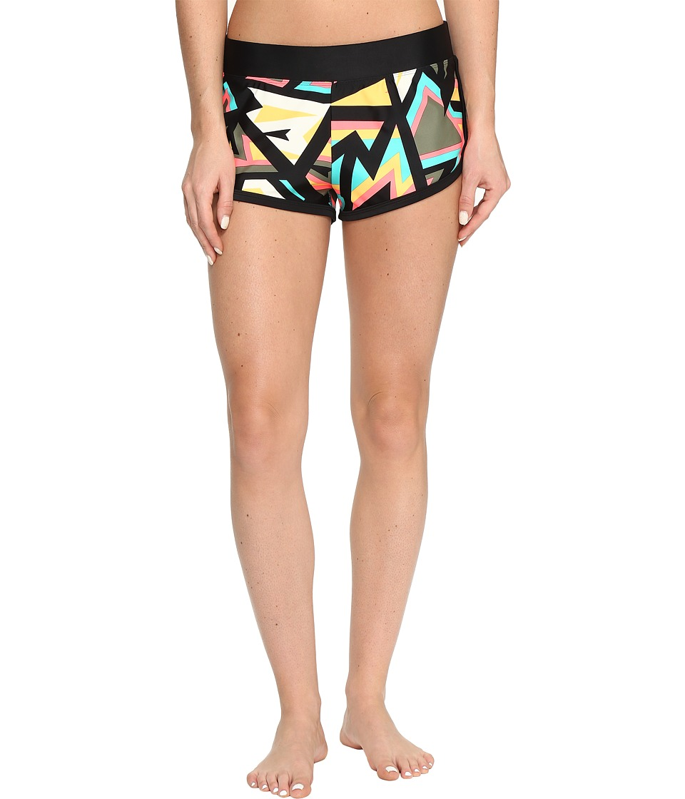Body Glove - Urbania Pulse Shorts (Black) Women's Swimwear