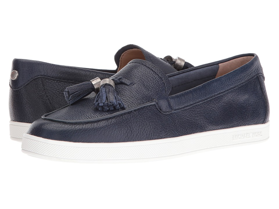 MICHAEL Michael Kors - Callahan Moc (Navy) Women's Shoes