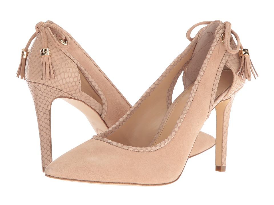 MICHAEL Michael Kors - Jennings Pump (Bisque) Women's Lace up casual Shoes