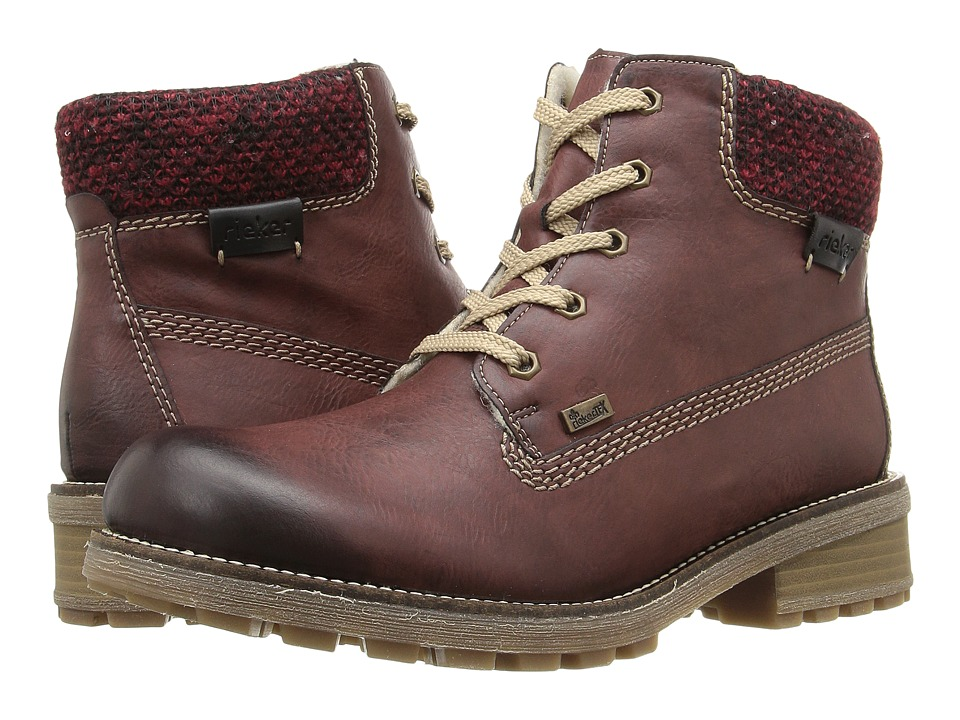 Rieker - Z0422 (Vinaccia/Rot-Schwarz/Schwarz) Women's Shoes