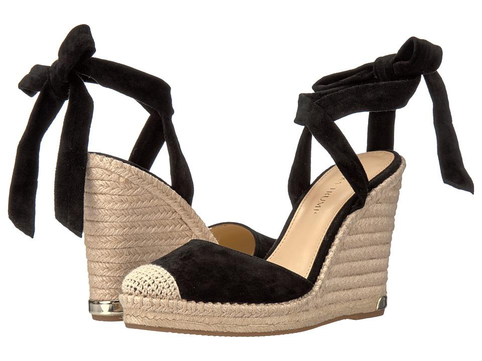 Ivanka Trump - Winikka (Black Suede/FH Kid Suede) Women's Wedge Shoes