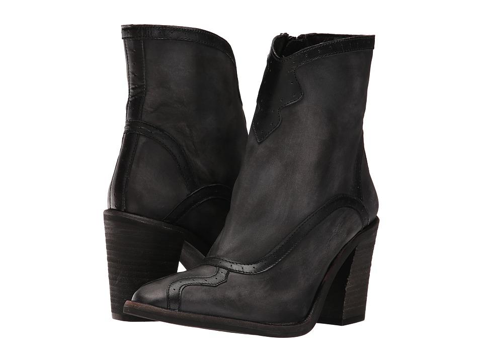 Free People Winding Road Heel Boot (Dark Grey) Women