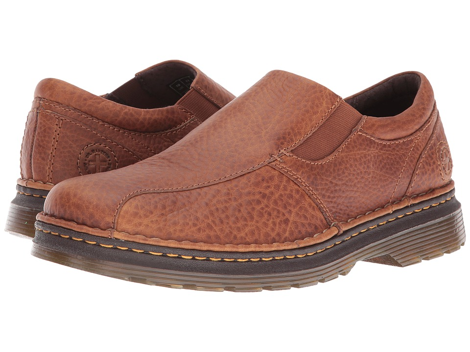 Dr. Martens - Tevin (Tan) Men's Slip on Shoes