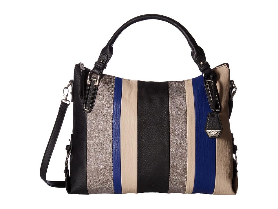 Jessica Simpson - Ryanne Top Zip Tote (Black Multi) Tote Handbags