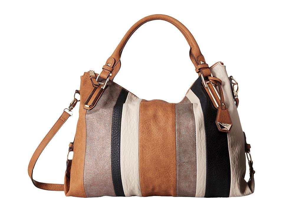 Jessica Simpson - Ryanne Top Zip Tote (Cognac Multi) Tote Handbags