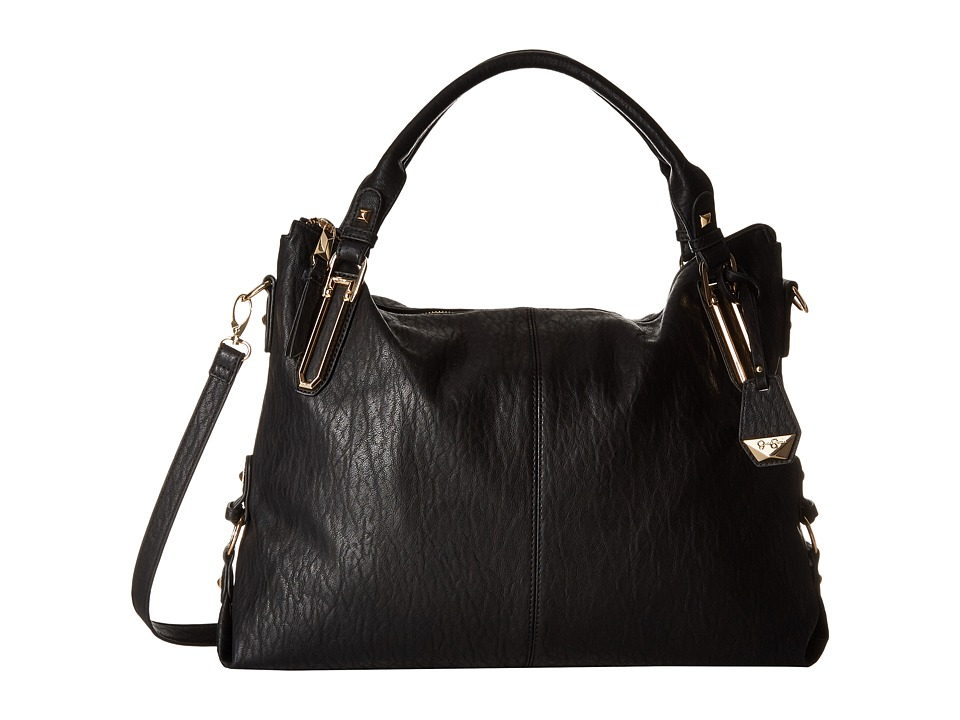 Jessica Simpson - Ryanne Top Zip Tote (Black) Tote Handbags