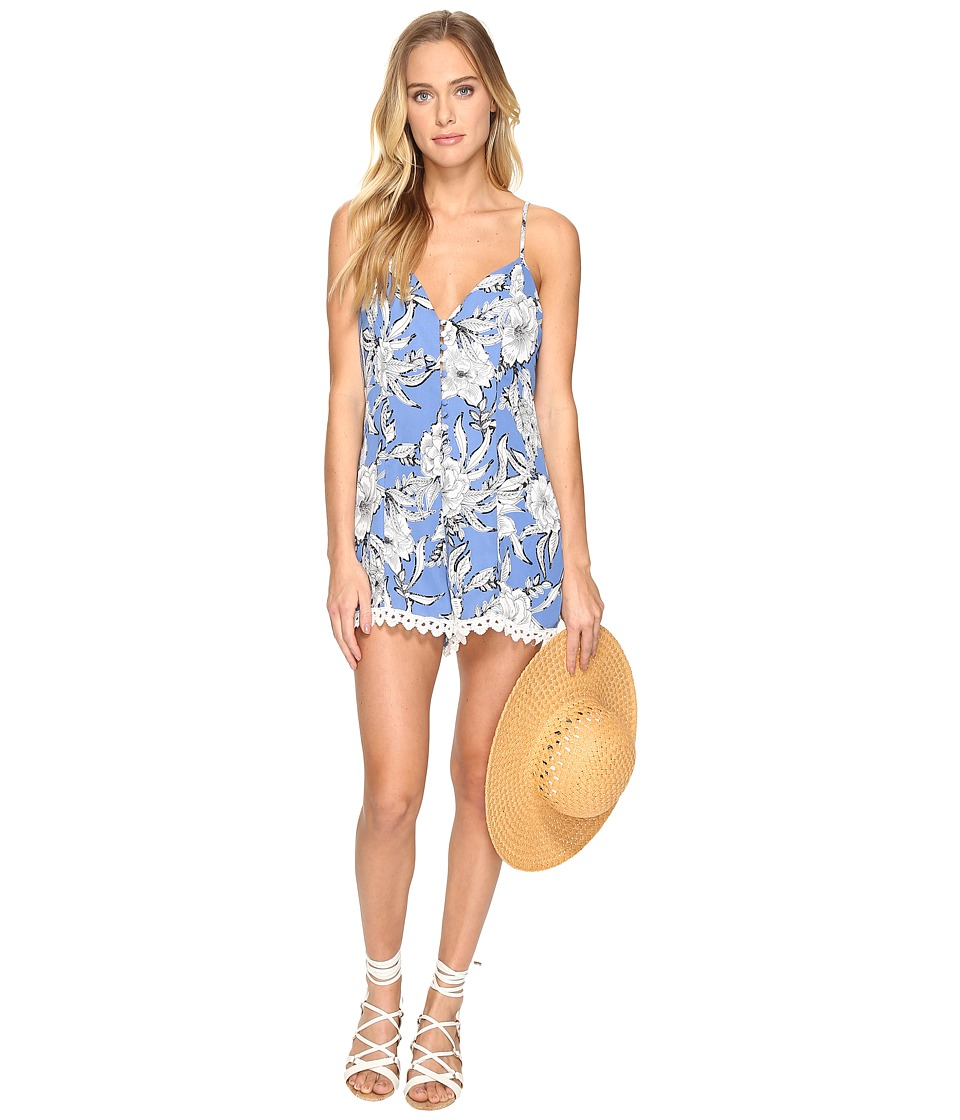 Lovers + Friends - Sapphire Romper (Riviera Floral) Women's Jumpsuit & Rompers One Piece