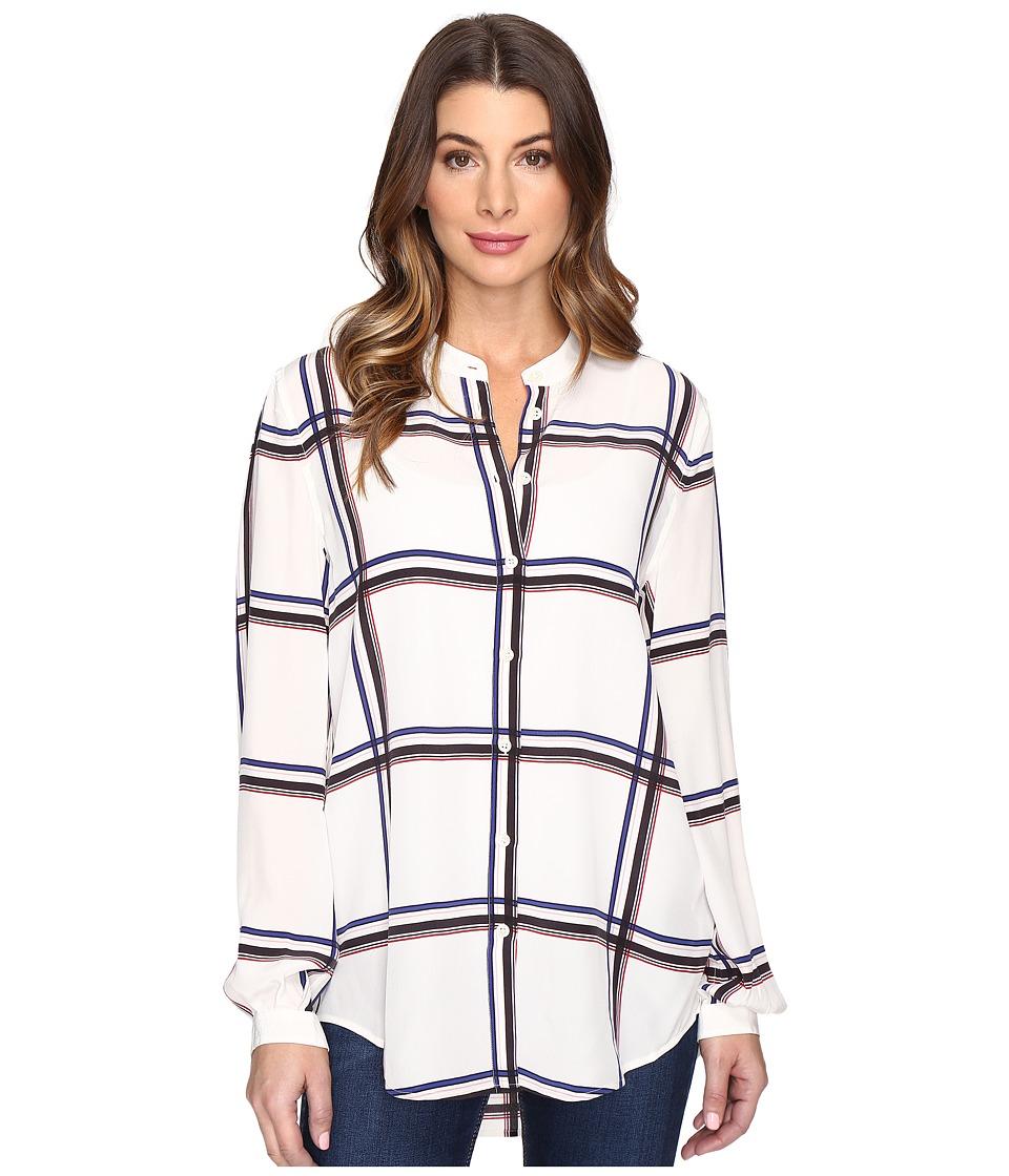EQUIPMENT - Henri (Nature White Multi) Women's Long Sleeve Pullover