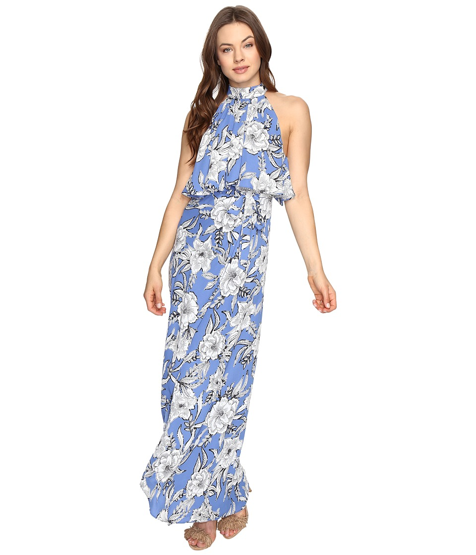 Lovers + Friends - Golden Ray Maxi (Riviera Floral) Women's Dress