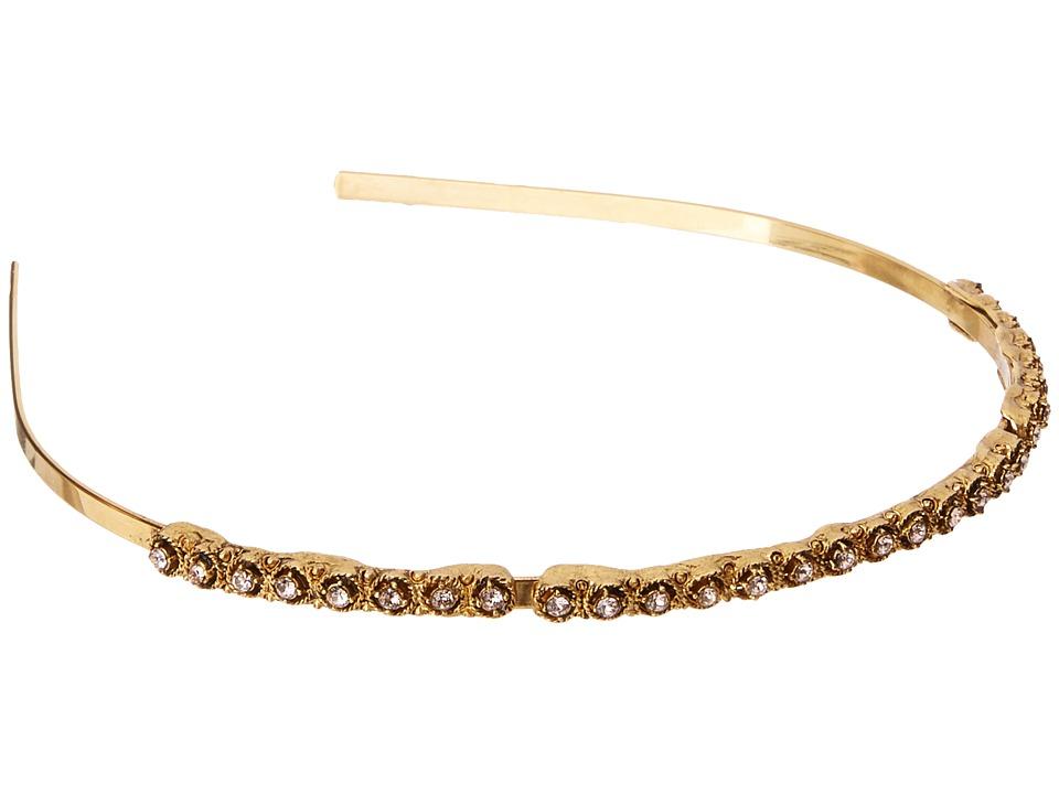 Oscar de la Renta - Round Crystal Headband (Blossom) Headband