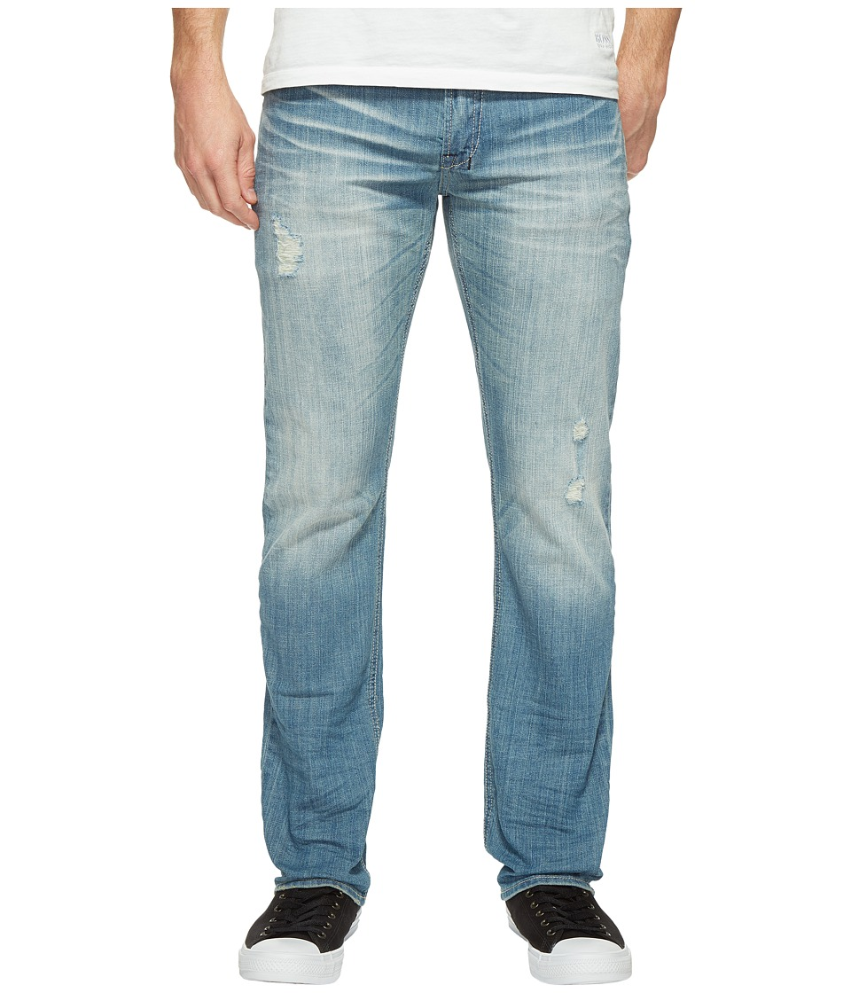Buffalo David Bitton - Six Straight Leg Jeans in Light Medium Wash (Light Medium Wash) Men's Jeans