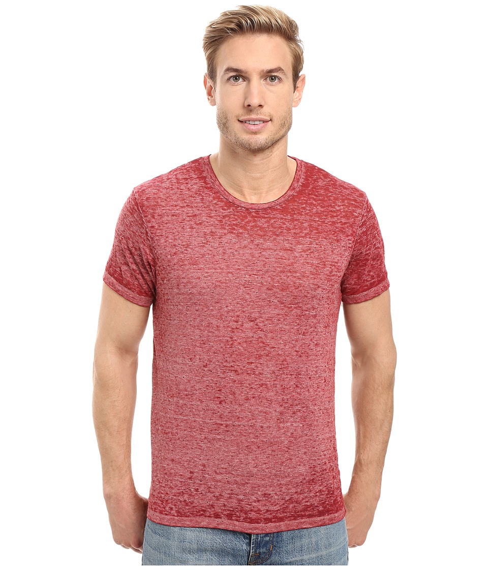 Alternative - Eco NEP Jersey Burnout Waterline Tee (Redwood Burnout) Men's T Shirt