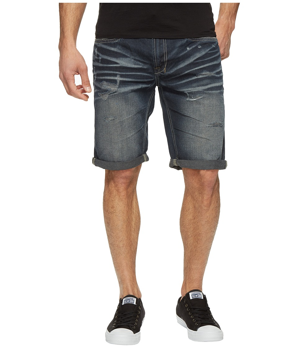 Buffalo David Bitton - Six Denim Shorts in Dark Tinted (Dark Tinted) Men's Shorts