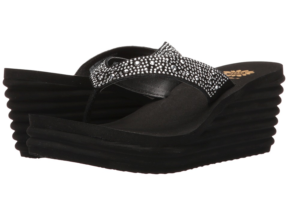 Yellow Box - Afrodite (Black) Women's Sandals