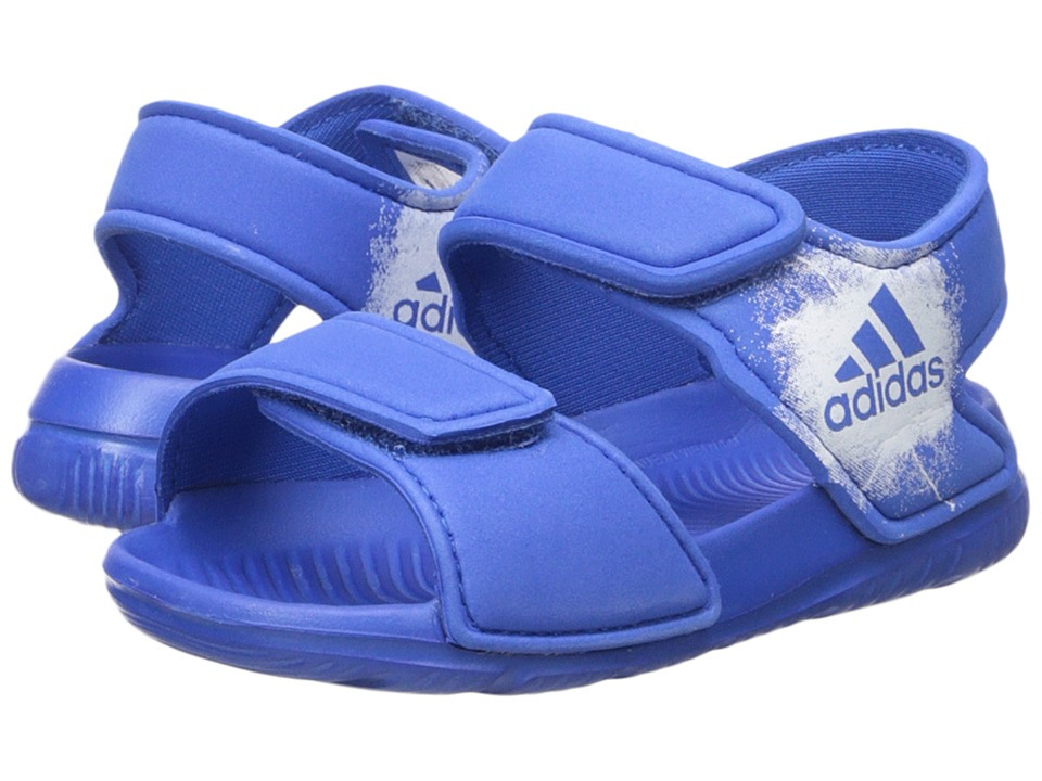 adidas Kids - AltaSwim (Infant/Toddler) (Blue/Footwear White) Boys Shoes