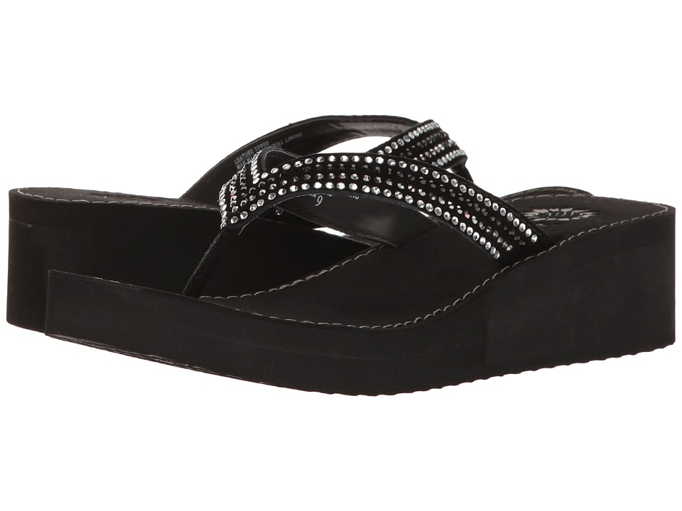 Yellow Box - Baxx (Black) Women's Sandals