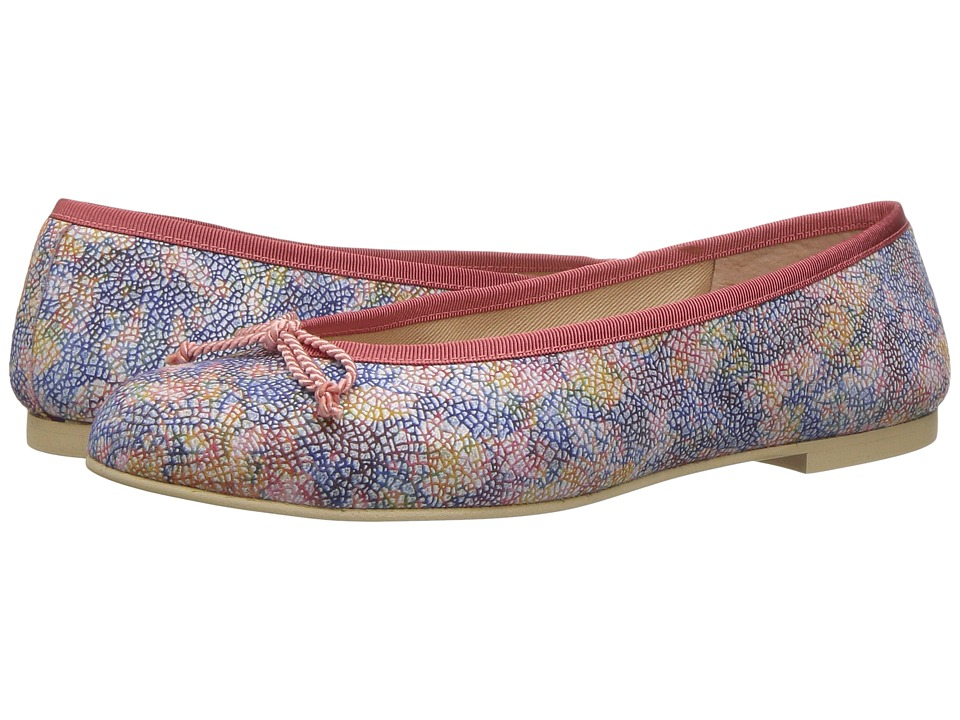 French Sole Pearl (Candy Quasar Printed Suede Leather) Women