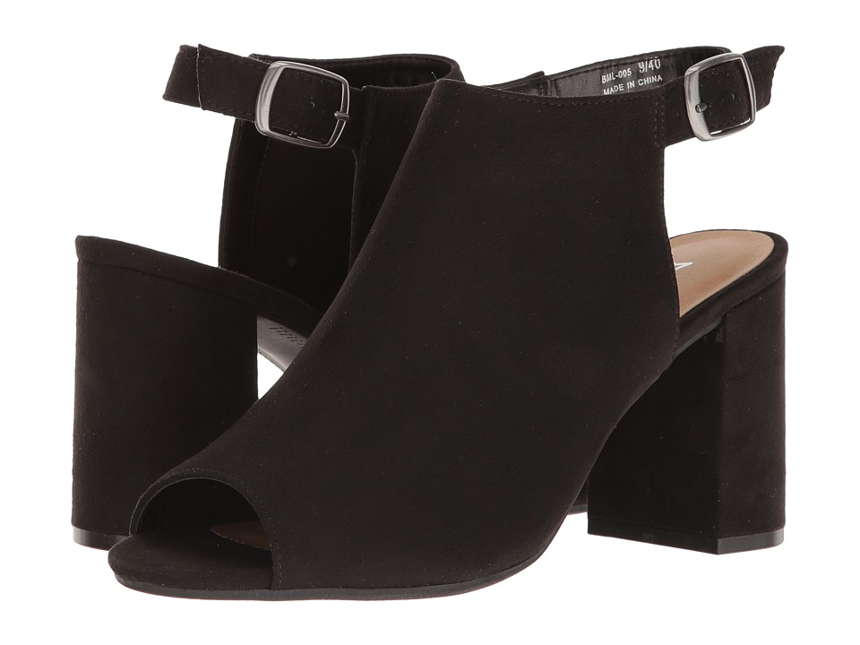 Dirty Laundry DL Best Yet Shootie (Black) High Heels