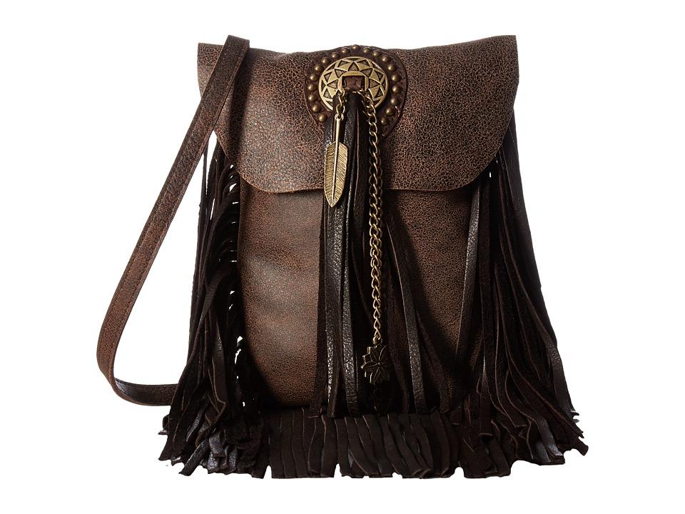 Leatherock - HK32 (Chocolate) Handbags