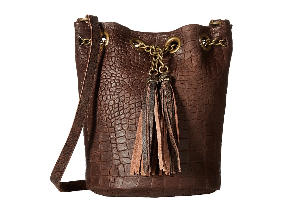 Leatherock - HJ95 (Brown) Handbags