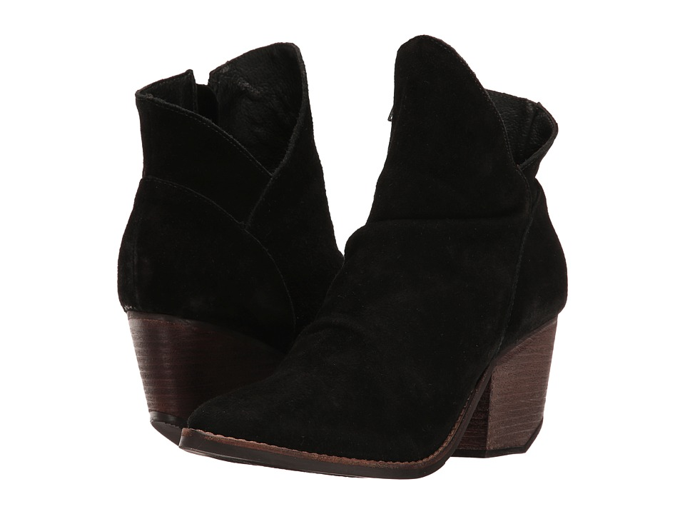 Matisse - Matisse x Amuse Society - Society (Black Leather Suede) Women's Shoes