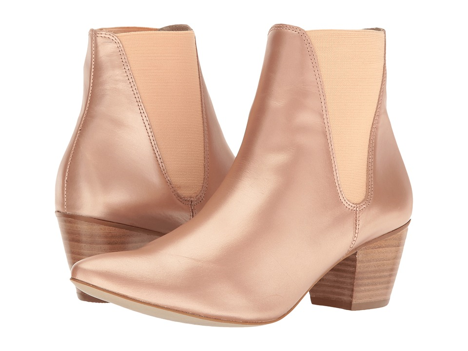 Matisse - Matisse x Amuse Society - Sass (Rose Gold Leather) Women's Shoes