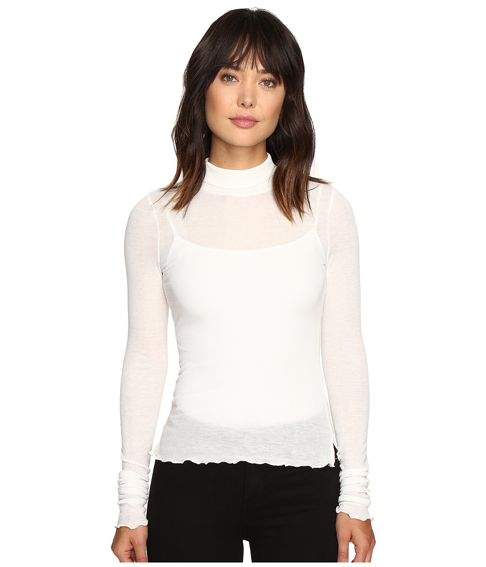 Free People - Modern Layering Turtleneck (Ivory) Women's Clothing