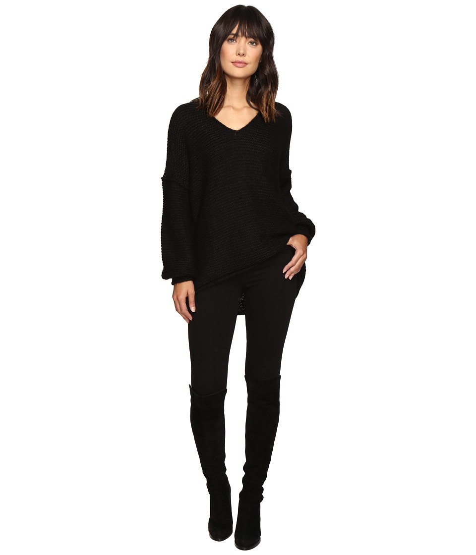 Free People - All Mine Sweater (Black) Women's Sweater