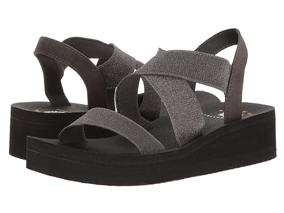Yellow Box - Bunkie (Pewter) Women's Sandals