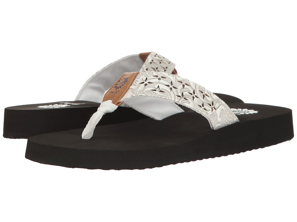 Yellow Box - Benji (White) Women's Sandals