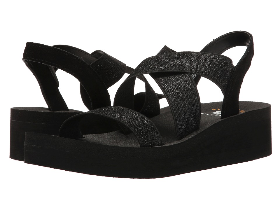 Yellow Box - Bunkie (Black Metallic) Women's Sandals