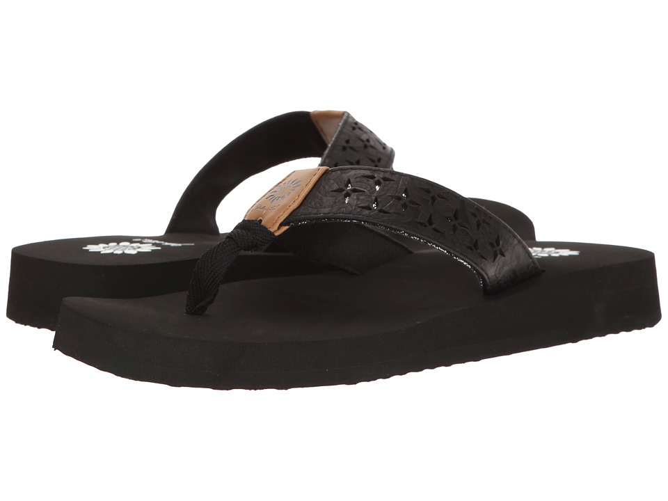 Yellow Box - Benji (Black) Women's Sandals