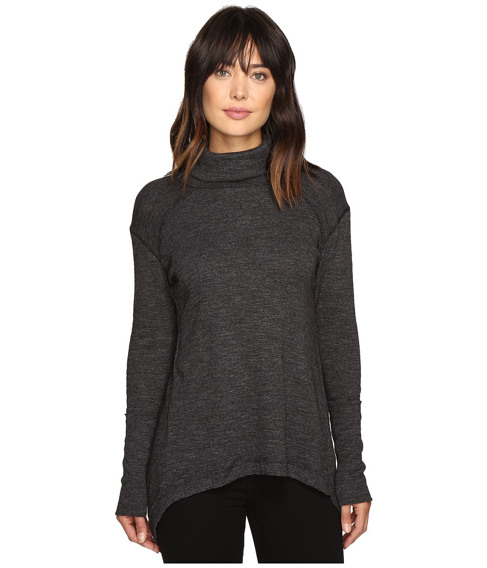 Free People - Tara Turtleneck (Black) Women's Clothing